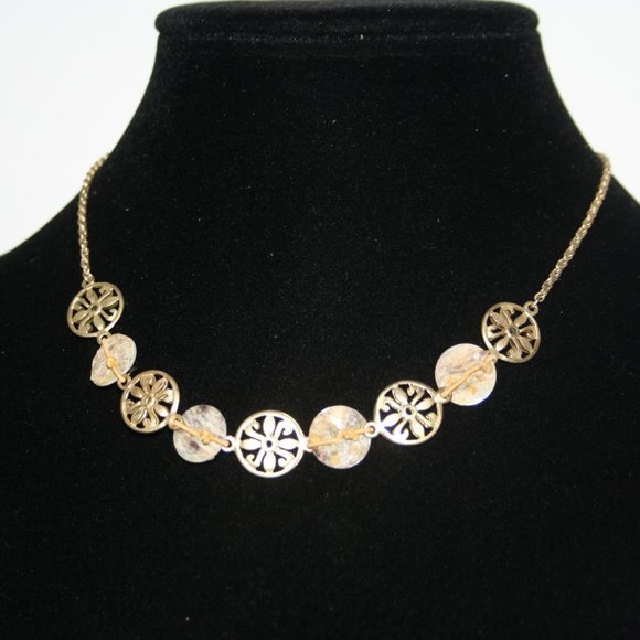 Beautiful gold necklace 16-19 inches
